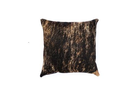 Primecut Brown Cowhide Brindle Pillow