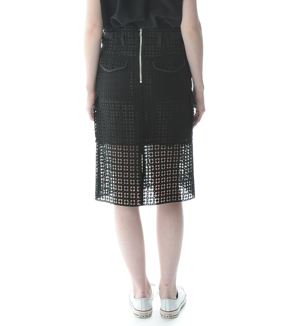 Sacai Luck Cutout Utility Skirt