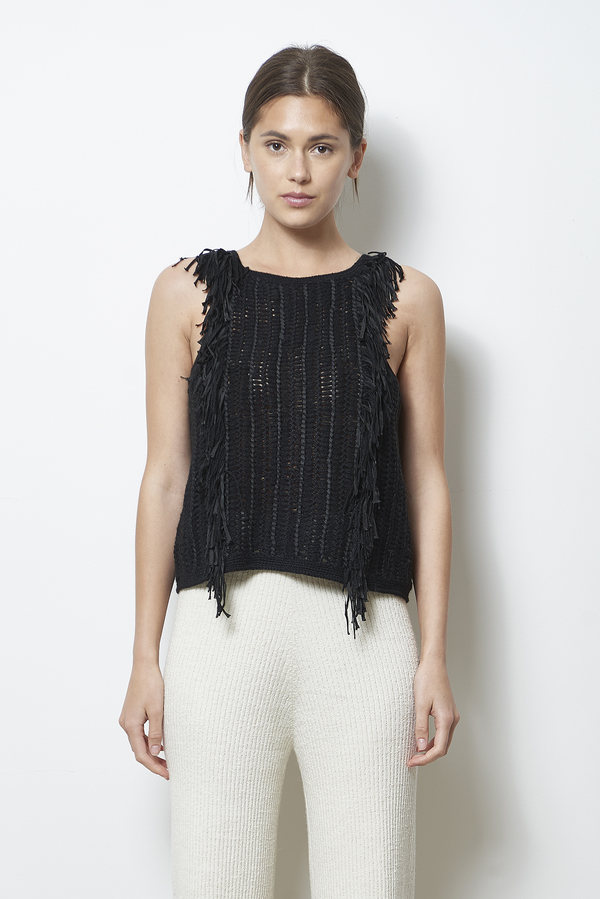 ELEVEN SIX ESTELLE SWEATER TANK
