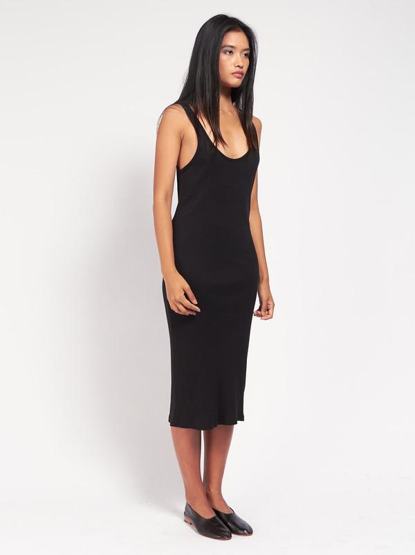 Skin Meredith Tank Dress Black