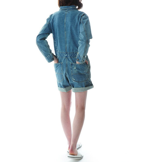 Sea NY Denim Shortsuit