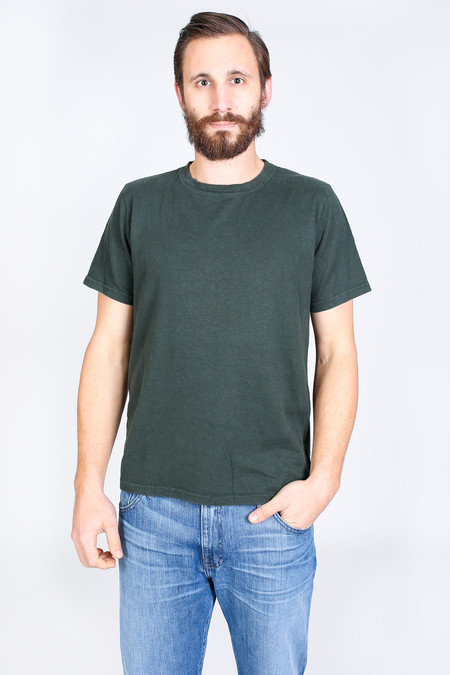 Men's Jungmaven Baja Short Sleeve T-Shirt in Forest Green