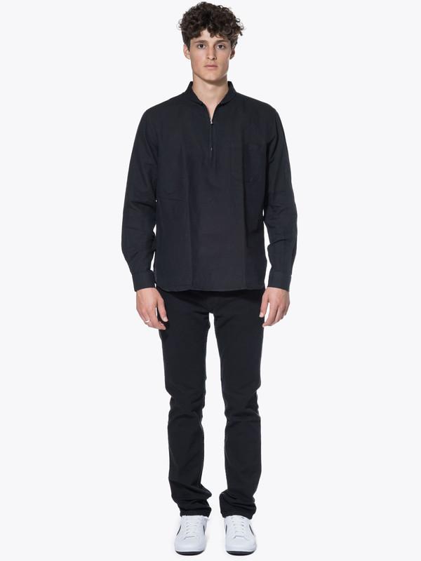 Men's Our Legacy Shawl Zip Shirt