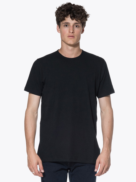 Wings + Horns Silk Jersey SS Crewneck