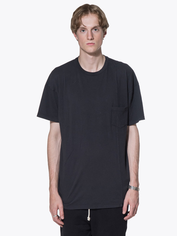 Men's John Elliott SS Paneled Pocket Tee