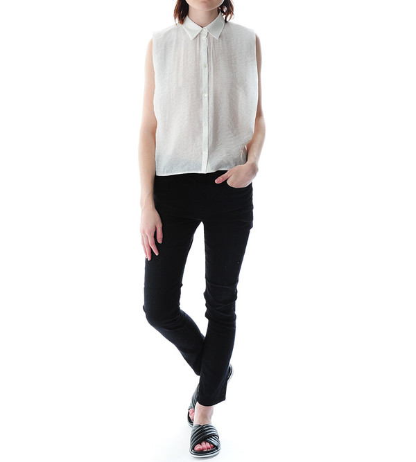 Nanushka Enki Sleeveless Tailored Shirt