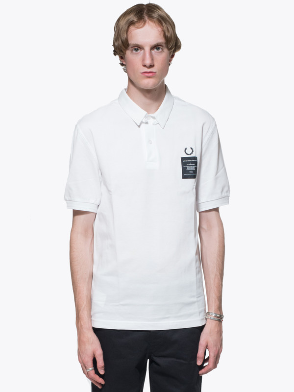 Men's Art Comes First X Fred Perry Woven Collar Pique Shirt