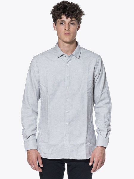 Men's Wings + Horns Woven Cotton Flannel LS BD Shirt