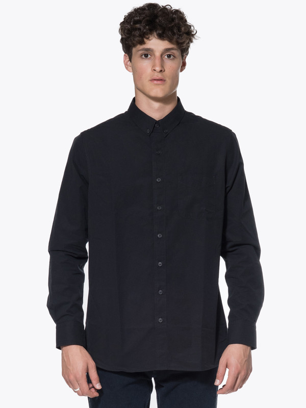 Men's Wings + Horns Woven Cotton LS BD Shirt