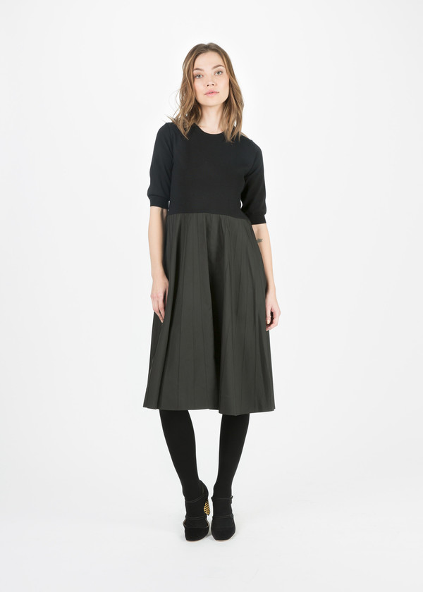 Margaret Howell Knit Top Panel Dress