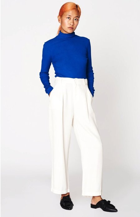 Lacausa Clothing Isabelle Pants - Panna Cotta