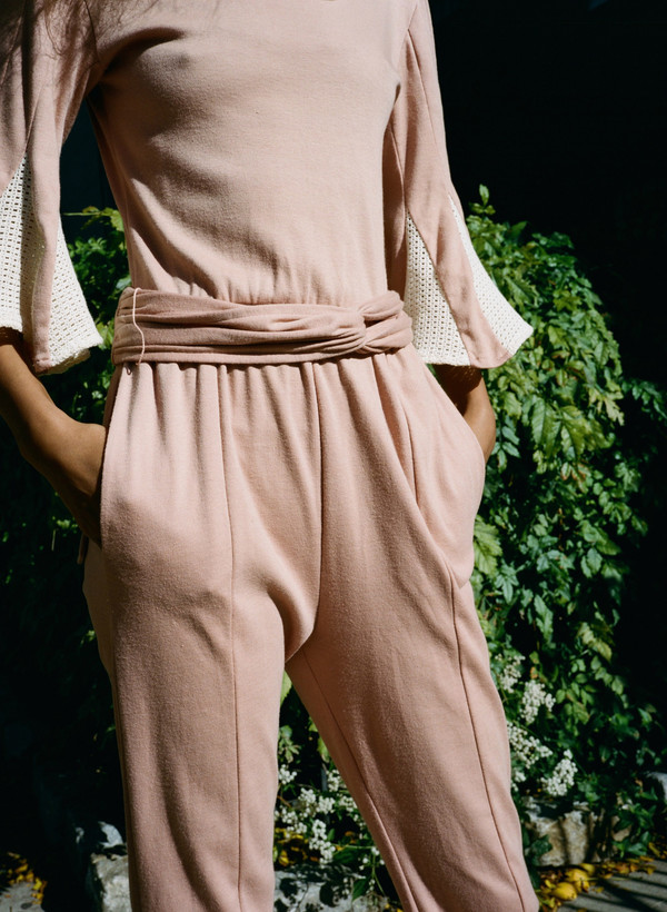 Narro Vintage Knit Jumpsuit