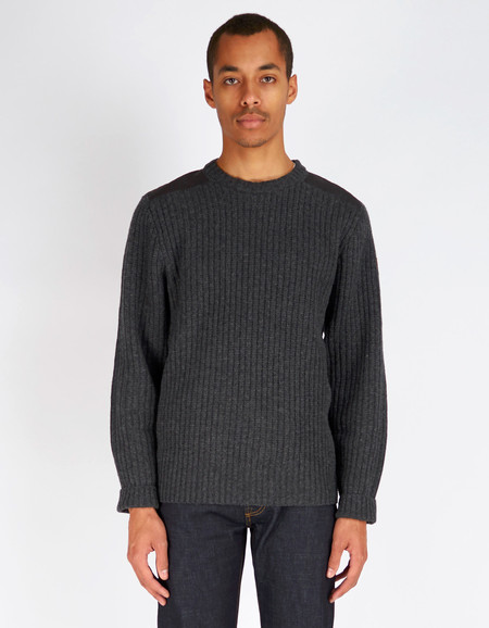 Men's Fjallraven Singi Knit Sweater Dark Grey
