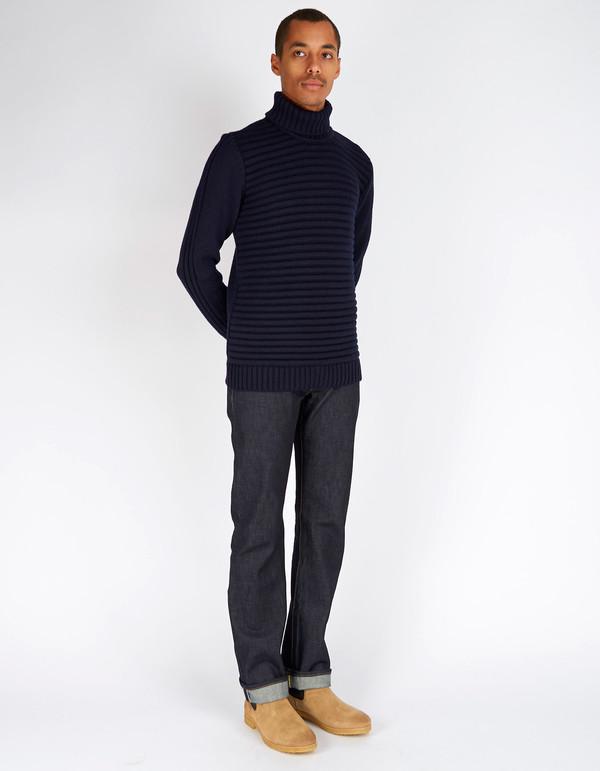 Men's Peregrine Mariner Turtleneck Sweater Navy