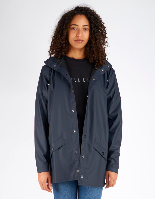 Rains Jacket Women's Blue