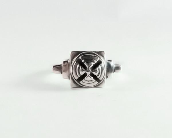 Men's Lacar Turret Ring