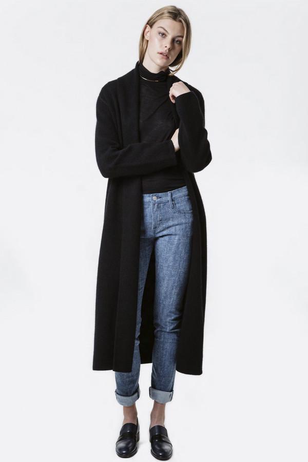 earnest sewn lynn long cashmere sweater