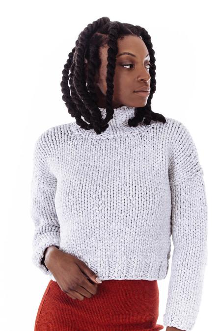 Nanushka Siro Hand Knit Chunky Sweater