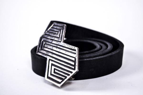 KC Vintage 1970s Silver Plate Belt