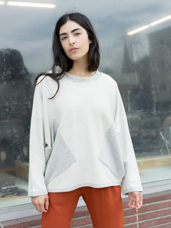 Calder Blake Isamu Contrast Pocket Pullover