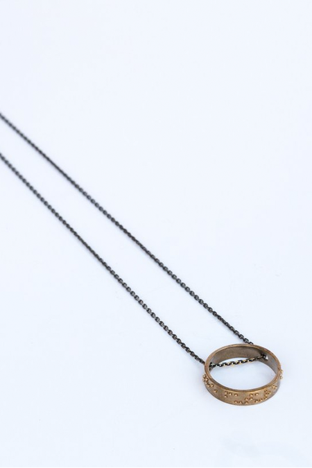 Covet + Keep Liza Necklace - Bronze