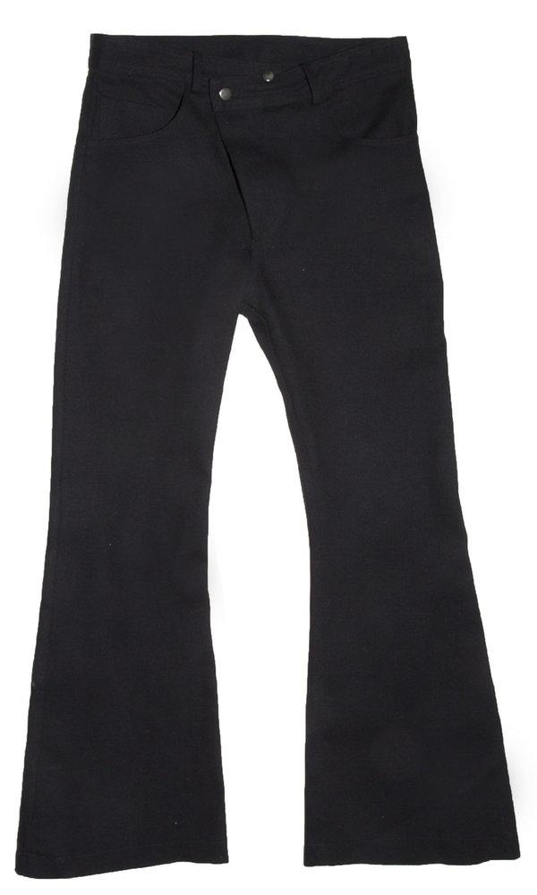 Collina Strada - Denim Ineguale Pant - Wide Black
