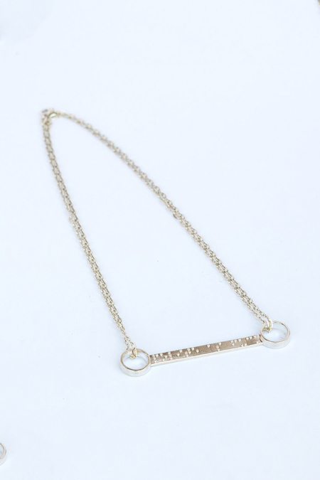 Covet + Keep Sarah Necklace - Silver