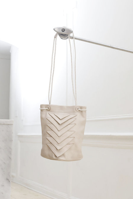 Collina Strada Tryst Bag Stone Leather