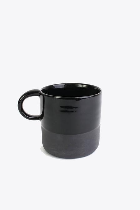 BTW Ceramics Mug in back in black series