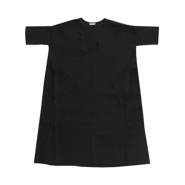 Ali Golden KIMONO DRESS - BLACK