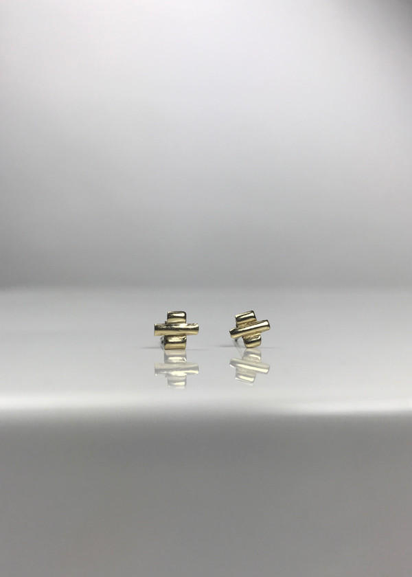 Mercurial NYC Tetris Earrings