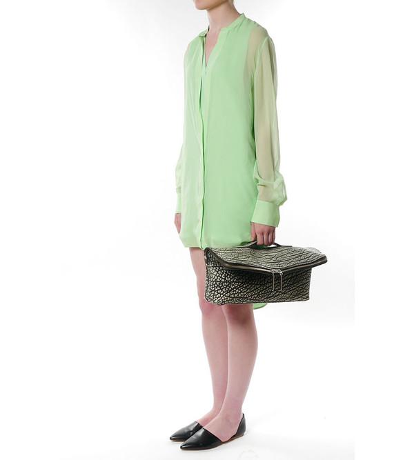 3.1 Phillip Lim Hem Layered Shirt Dress