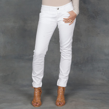 Closed Pedal Star White Jeans