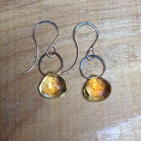 Melissa Joy Manning Citrine Earrings