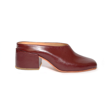 ZOU XOU Sabot Mule in Mulberry
