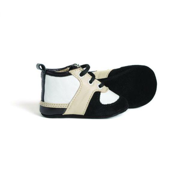 Little Lulu's Monochrome Louie Tennis Shoes
