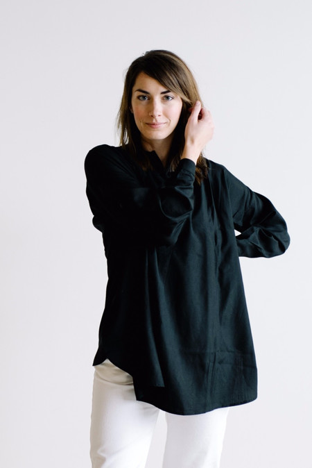 Wray Painter Tunic - Black