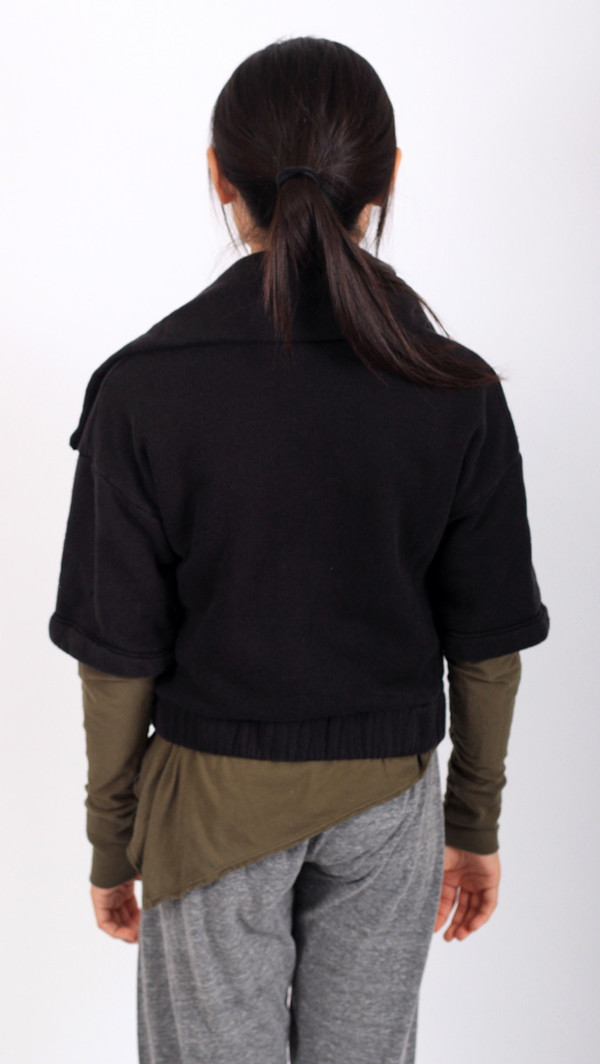 Kid's Mimobee Melrose Crop Jacket - Black
