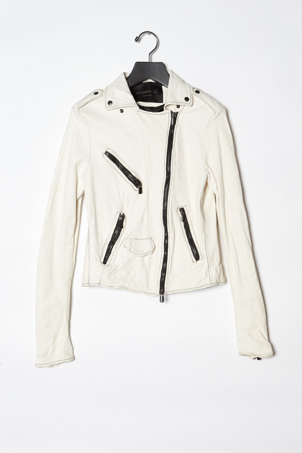 Numero 10 Leather Jacket