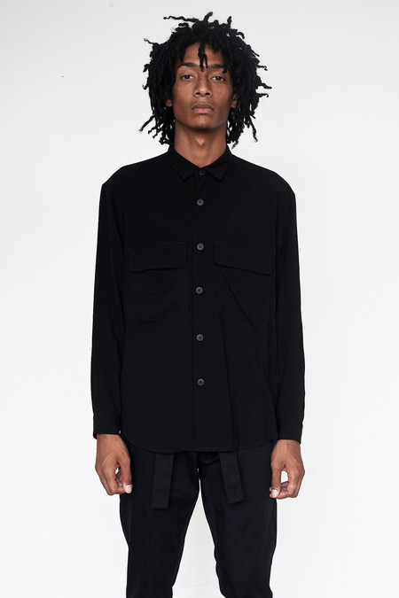 Assembly New York Crepe Poet Shirt