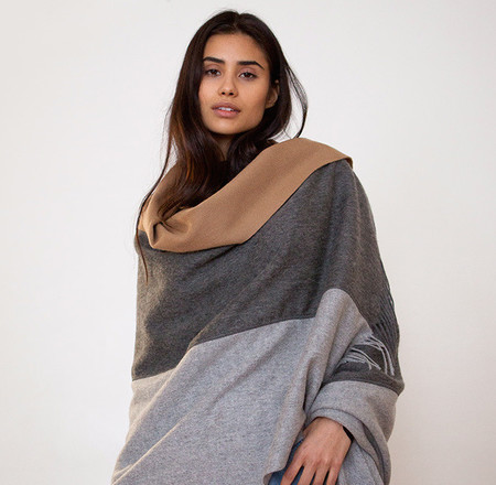 DONNI CHARM TRIO WOOL IN CAMEL/HEATHER GREY/CHARCOAL