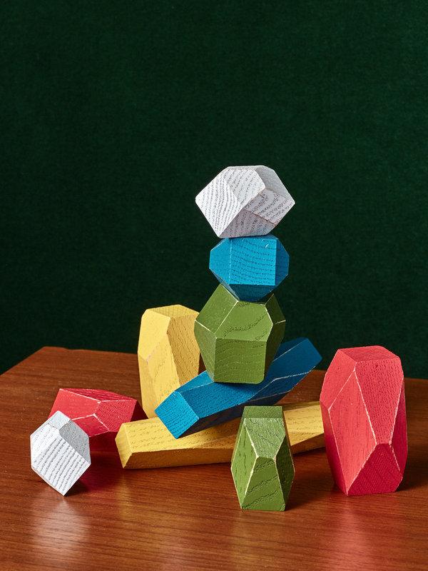 Areaware Colorful Balancing Blocks