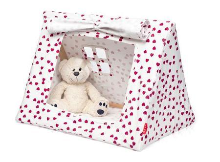 Deuz Mini Fuchsia Hearts Tent