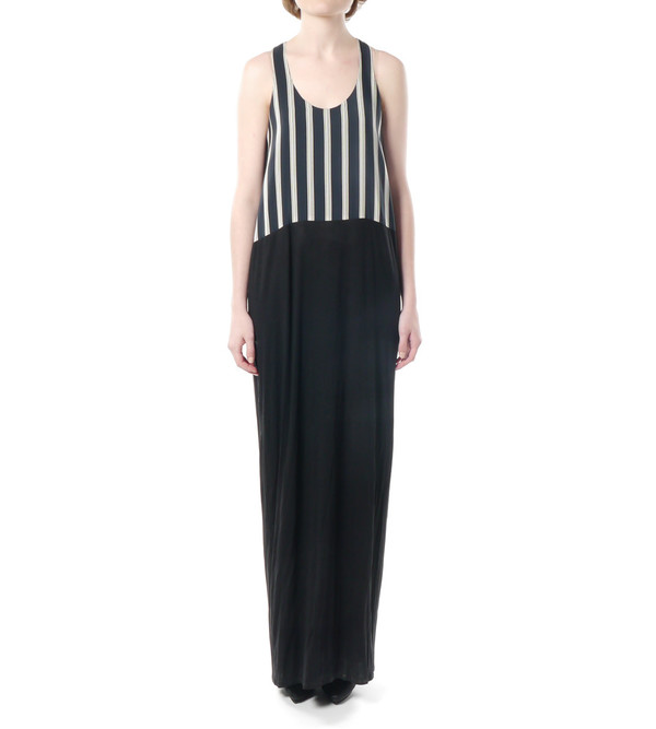 Mason By Michelle Mason Silk Front Tank Maxi Dress