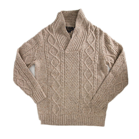 Men's Pendleton Donegal Fisherman's Cable Pullover