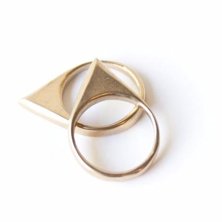 Dea Dia Peaks Ring - Bronze