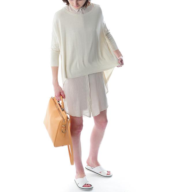 Raquel Allegra Sleeveless Collar Dress