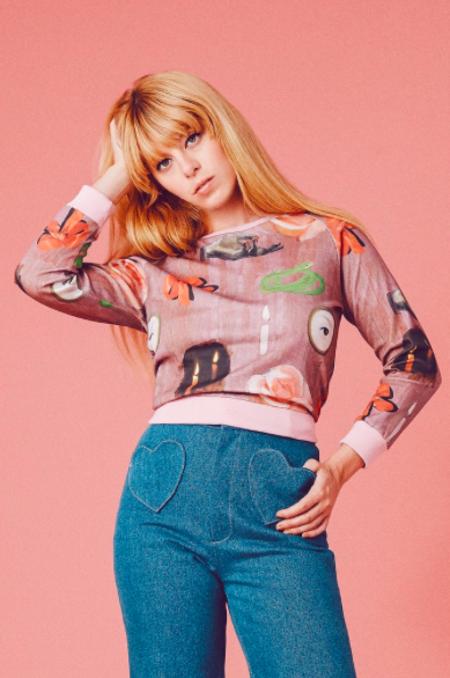 Samantha Pleet Spell Sweatshirt