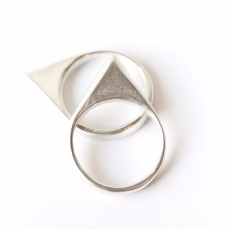 Dea Dia Peaks Ring - Silver