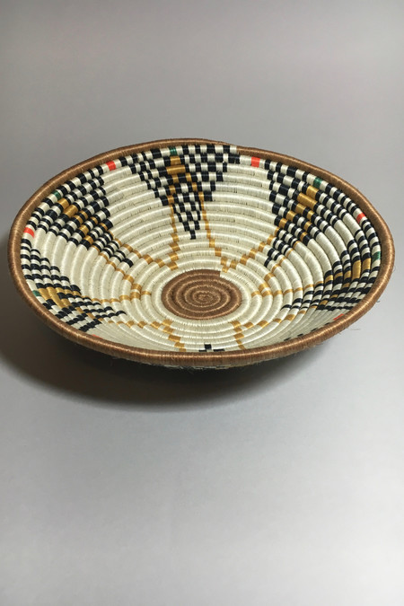 All Across Africa Large Dijon Hope Basket